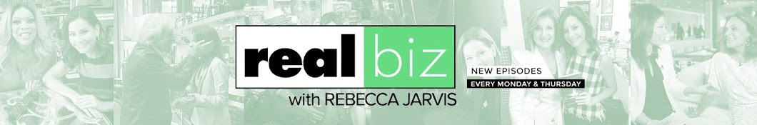 Real Biz with Rebecca Jarvis Banner