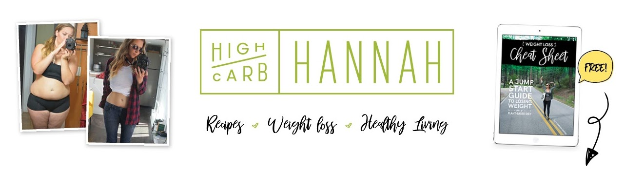 High Carb Hannah's Cover Image