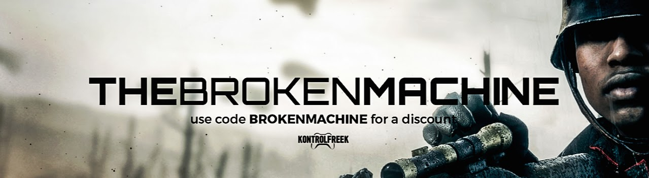 TheBrokenMachine's Cover Image