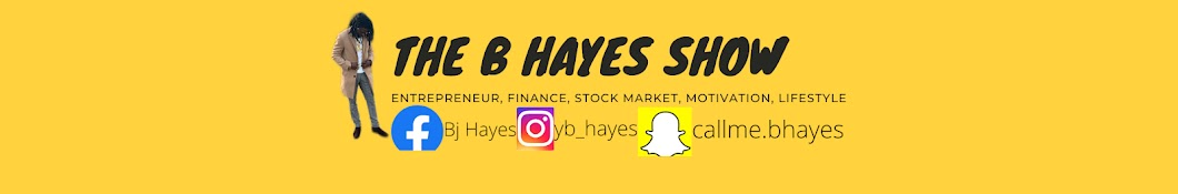 The B Hayes Show Banner