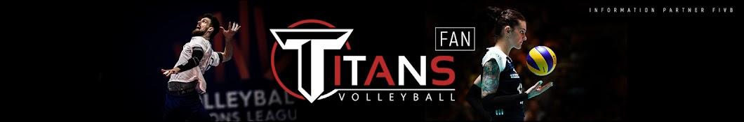 Titans Volleyball Fan баннер
