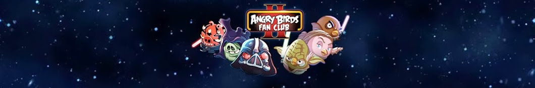 Angry Birds Fan Club баннер