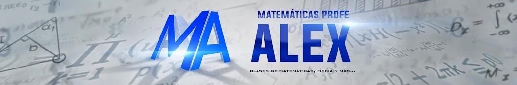 Matemáticas profe Alex Banner