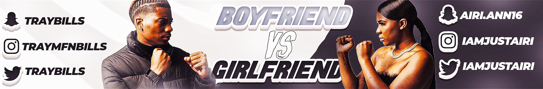Youtube boyfriend vs girlfriend