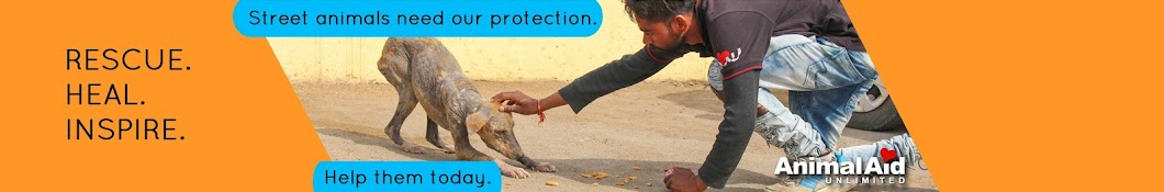 Animal Aid Unlimited, India Banner