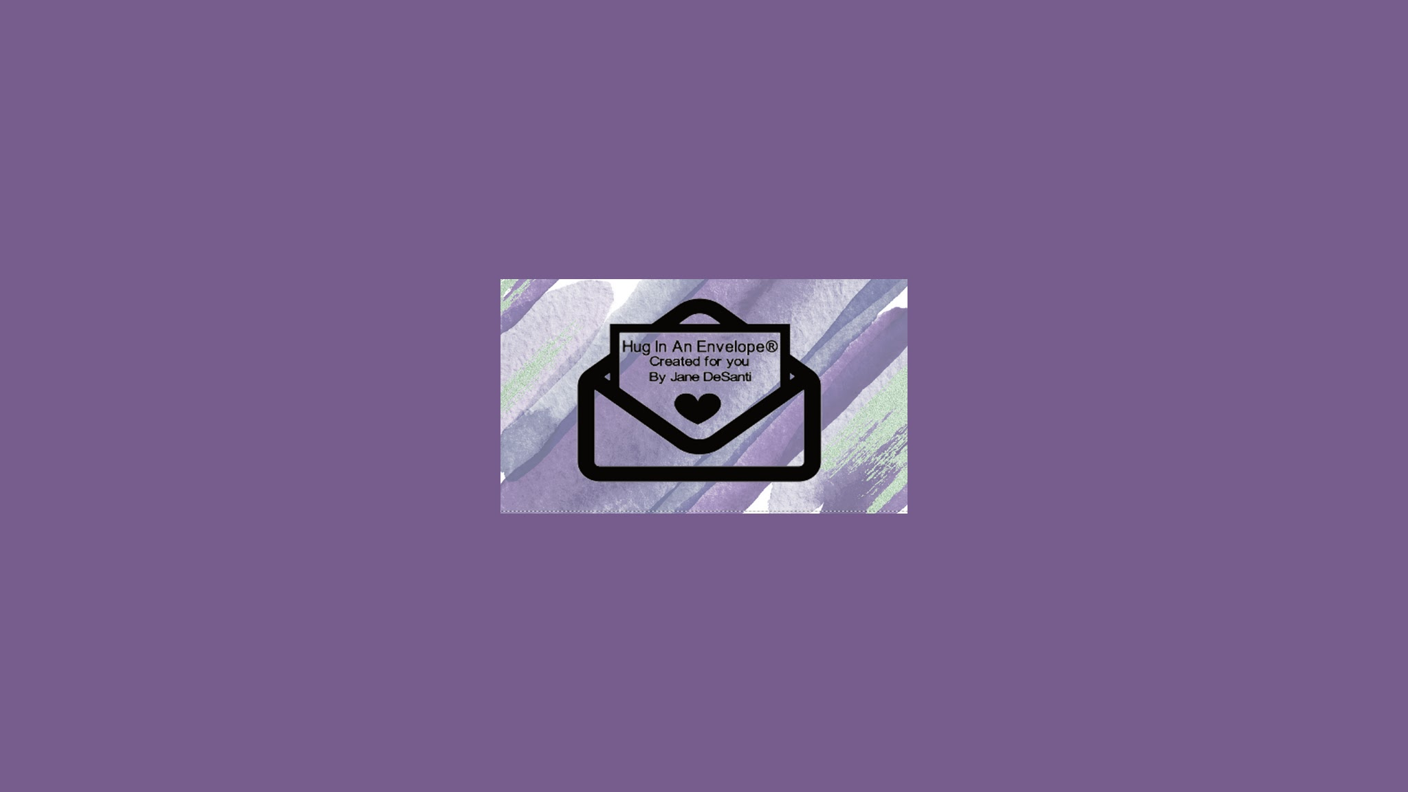 Hug In An Envelope By Jane DeSanti