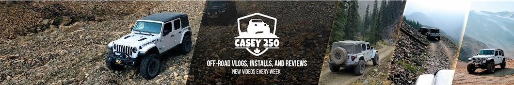 Casey 250 Banner