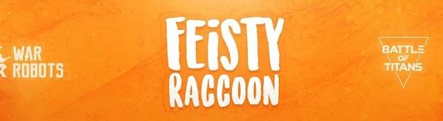 Feisty Raccoon