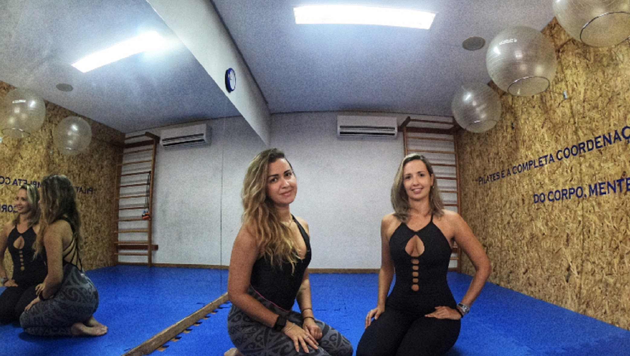 Pilates - Débora Caldas e Jamile Passos