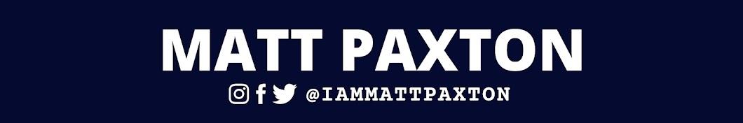 Matt Paxton Banner