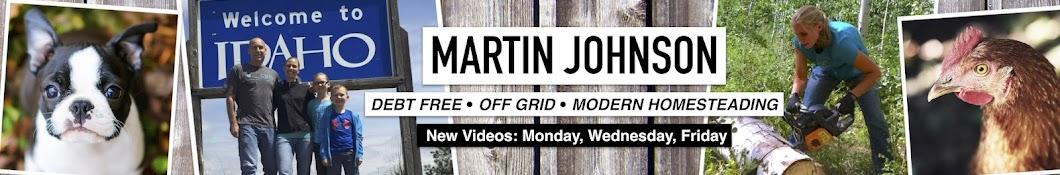 Martin Johnson - Off Grid Living Banner