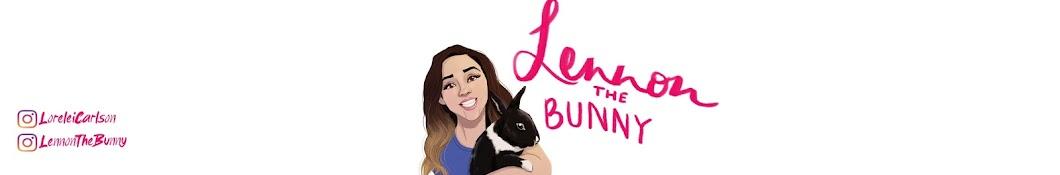 Lennon The Bunny Banner