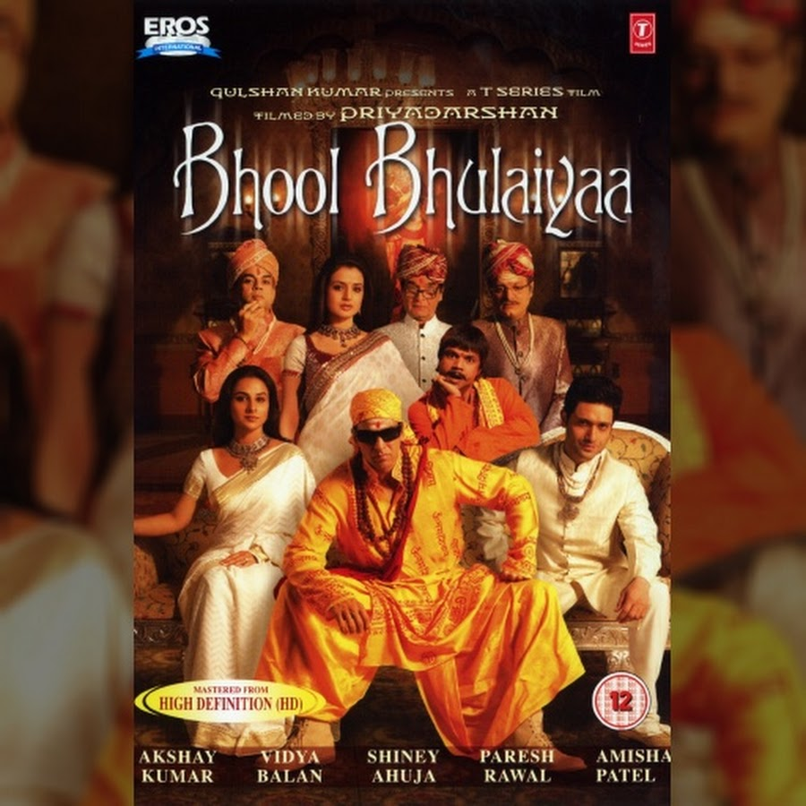Bhool Bhulaiyaa (Title) Lyrics - Bhool Bhulaiyaa | Neeraj ...