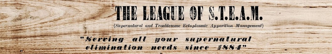 The League of S.T.E.A.M. Banner