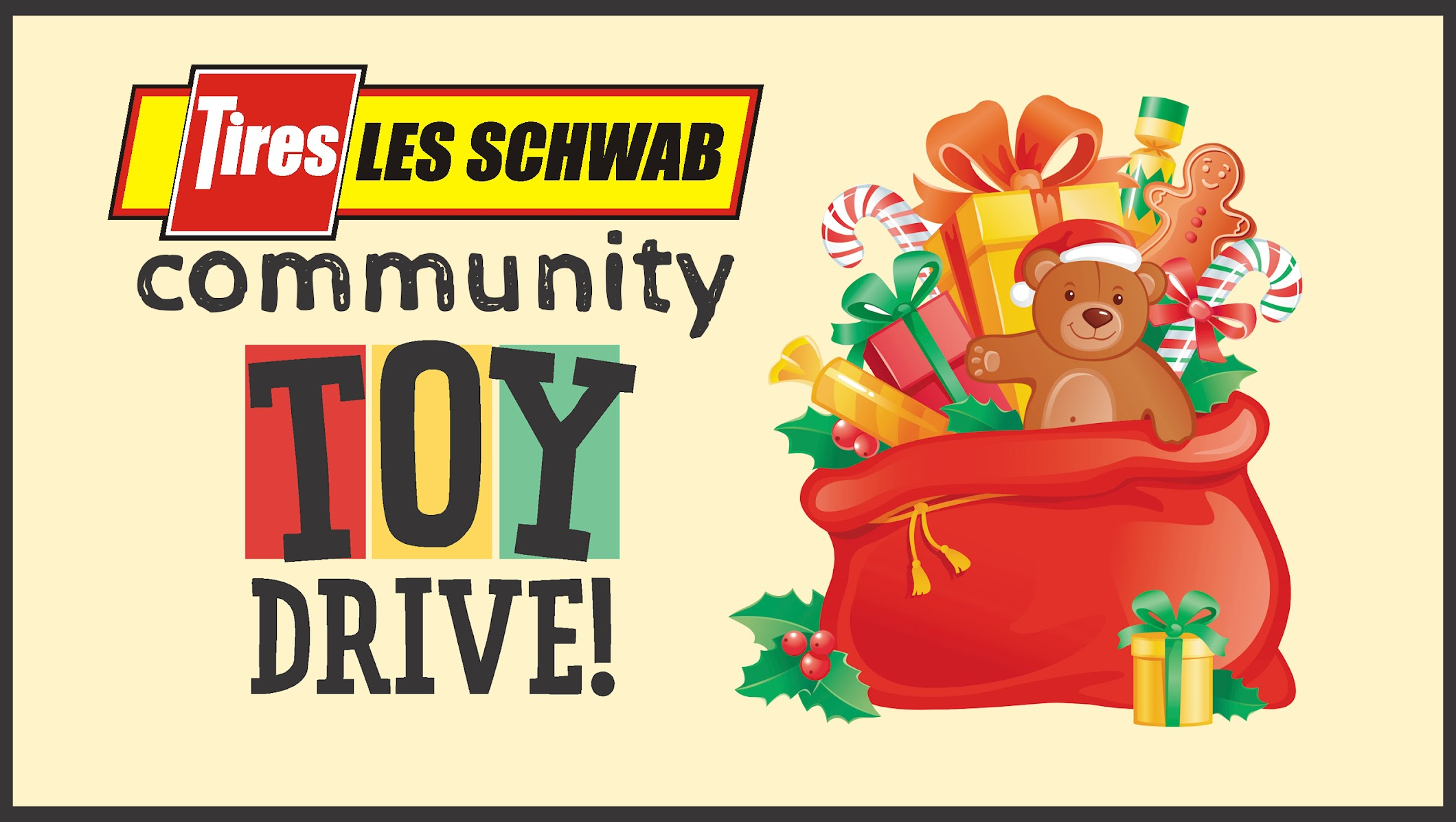 Les Schwab Wenatchee Valley Community Toy Drive