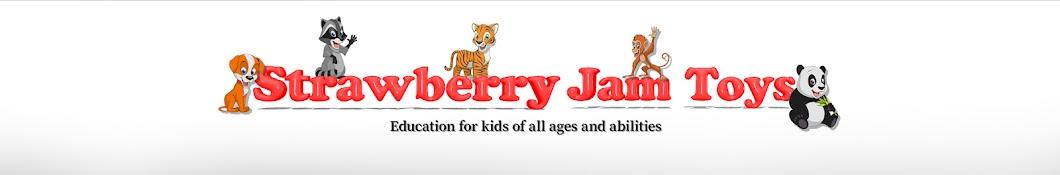 Strawberry Jam Toys Banner
