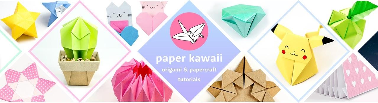 Paper Kawaii Origami Tutorials Youtube