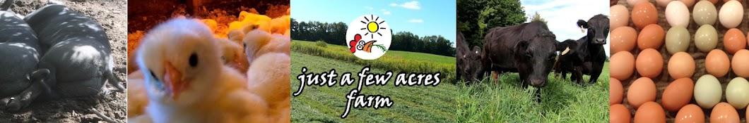 Just a Few Acres Farm Banner