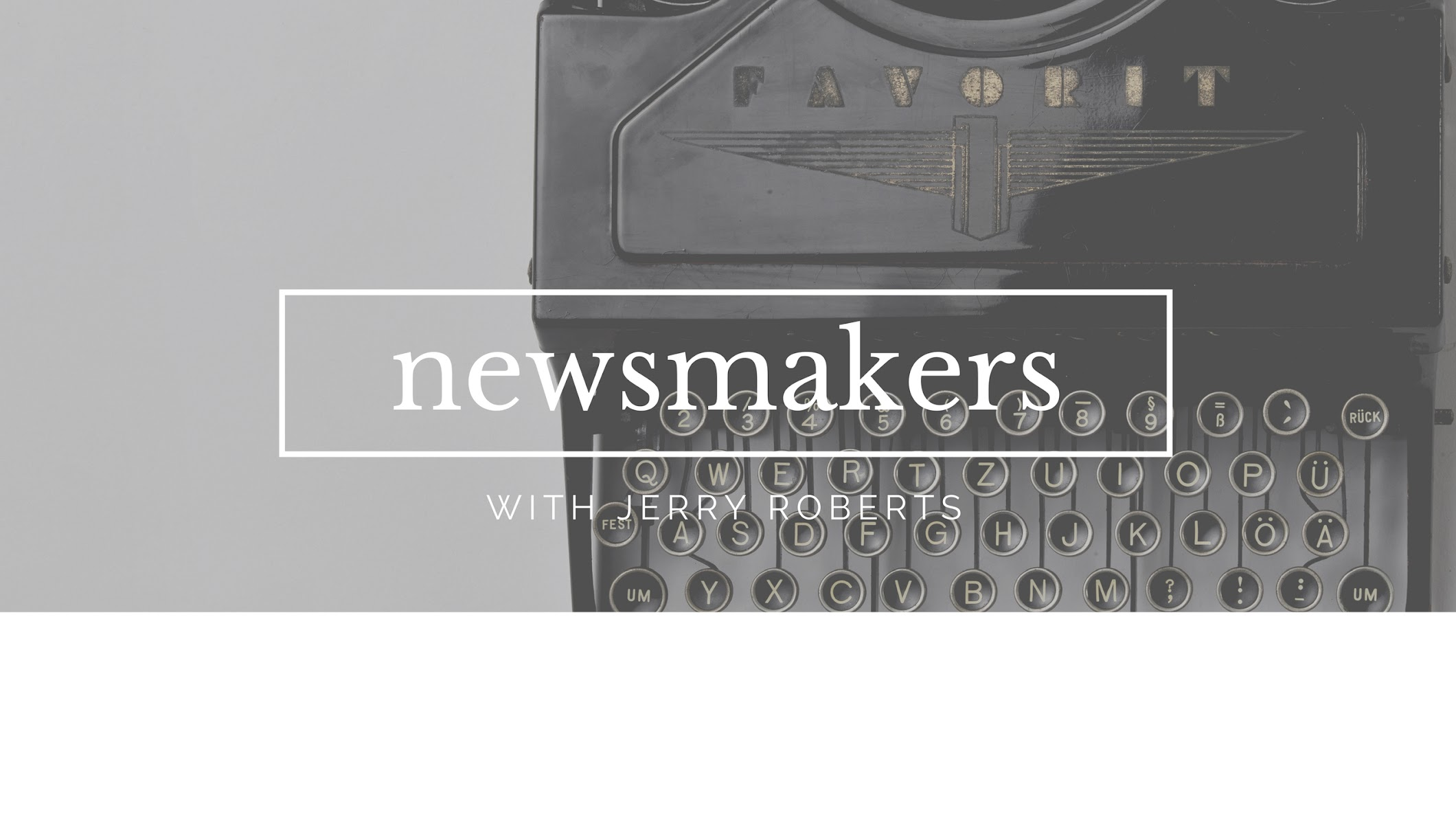 NewsmakersWithJR