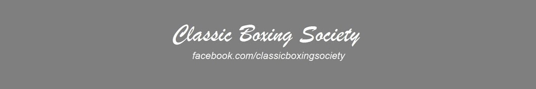 ClassicBoxingSociety