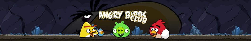Angry Birds Club баннер