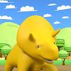 Aprender com o Dino - Desenhos animados educativos
