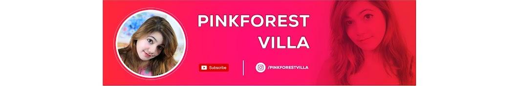 pinkforest villa Banner