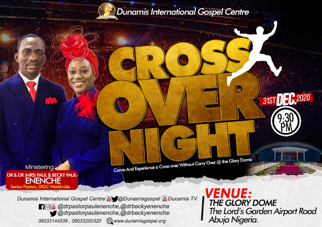 Dunamis Crossover Night 2020-2021 Service 31st December 2020