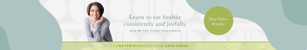 The Watering Mouth: Eat to Live For Good Banner
