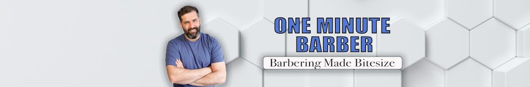 The One Minute Barber Banner