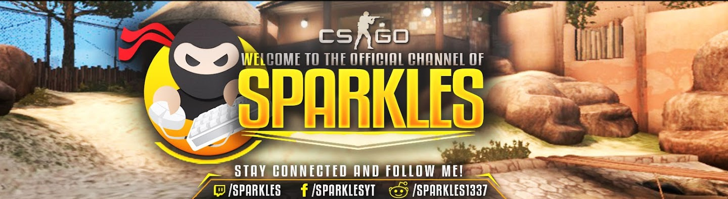 Sparkles ☆ #1 Gaming - CSGO & more's Cover Image
