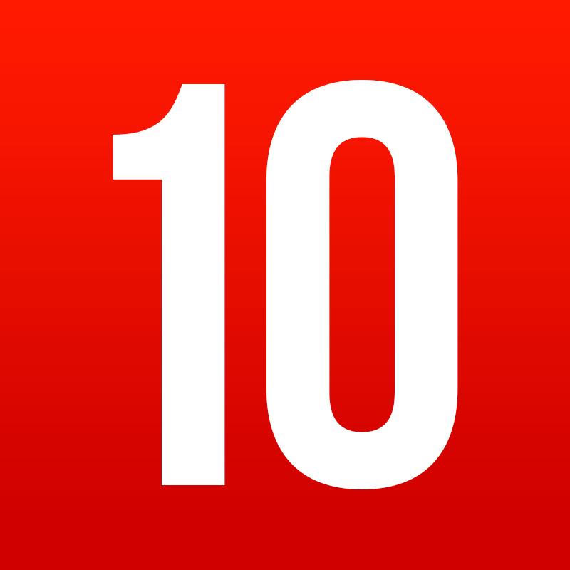 Amazing Top 10s