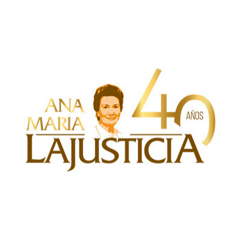 Anamarialajusticia YouTube channel image
