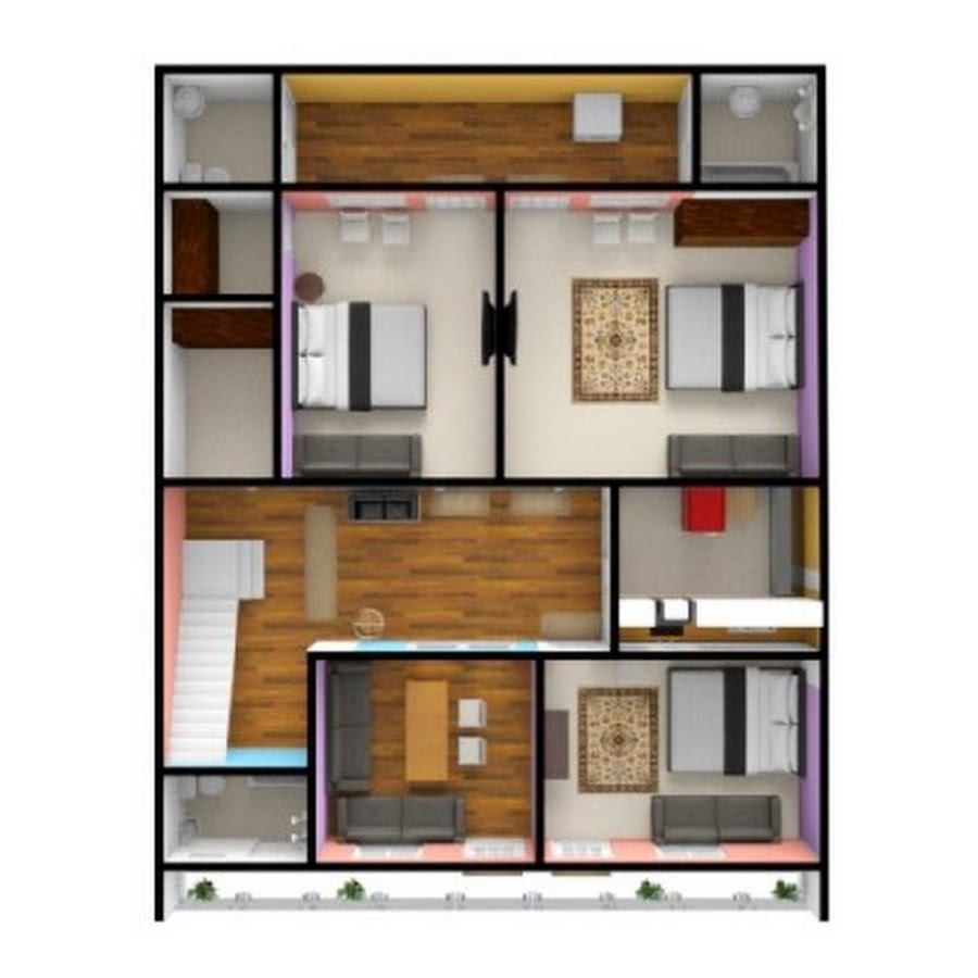 Home Design 3d Youtube: House Plan For You 2d And 3d