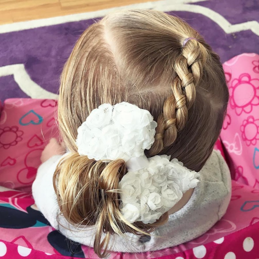 Easy Toddler Hairstyles - YouTube