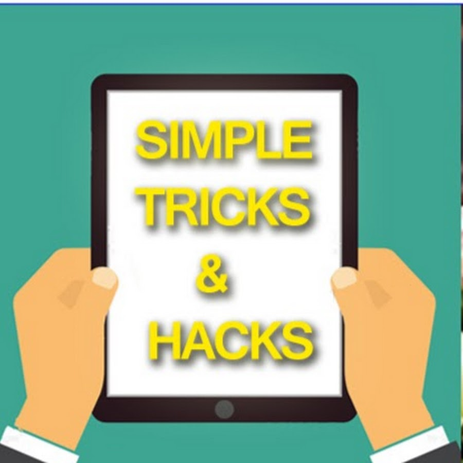 57383b8a577 Simple Tricks   Hacks - YouTube
