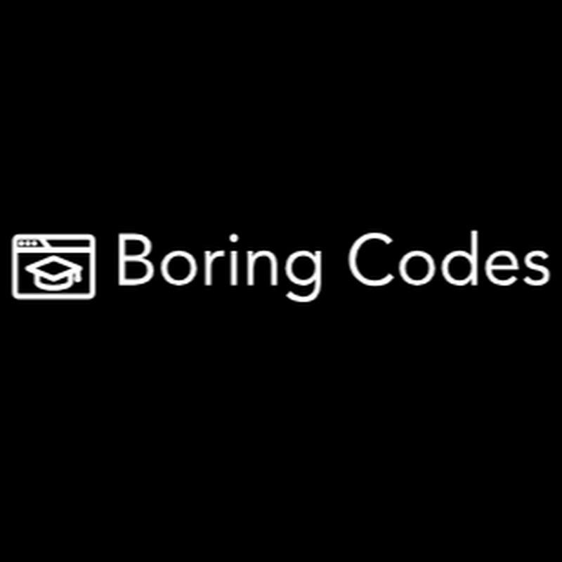 Boring Codes (boring-codes)