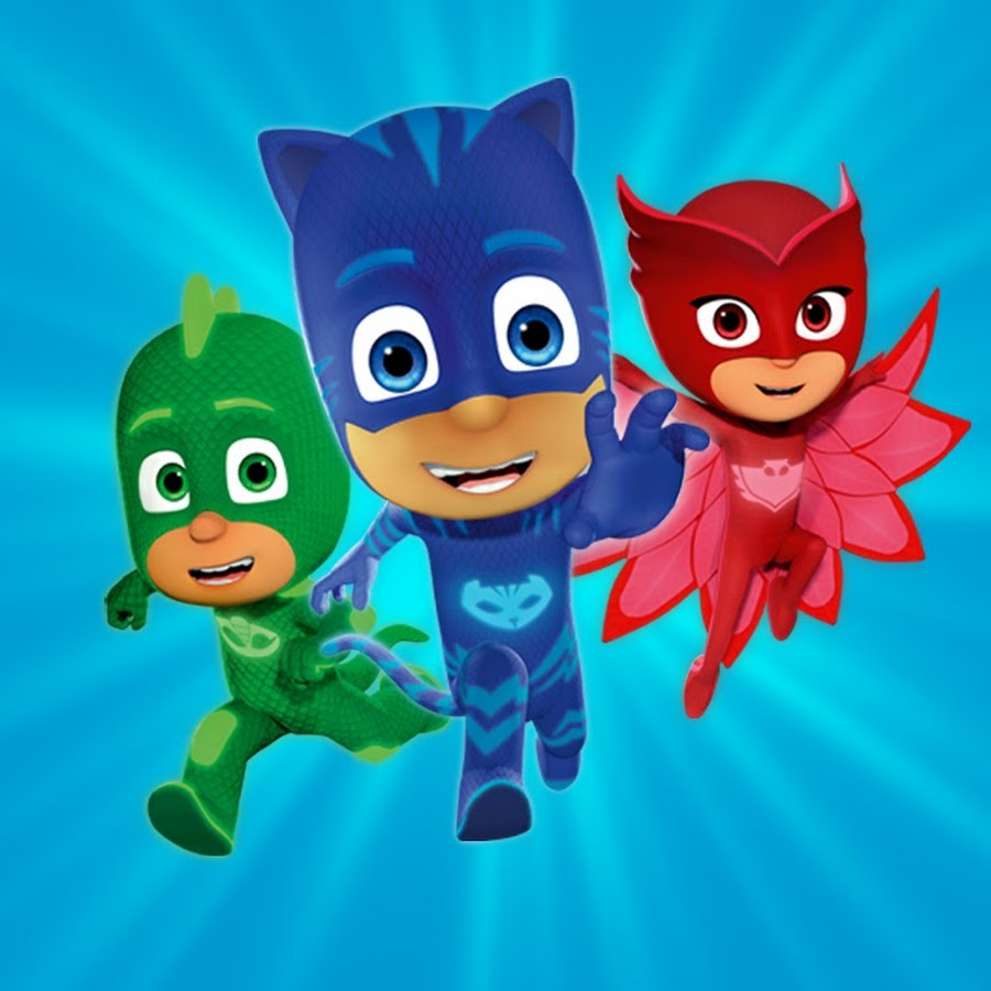 pj masks official youtube