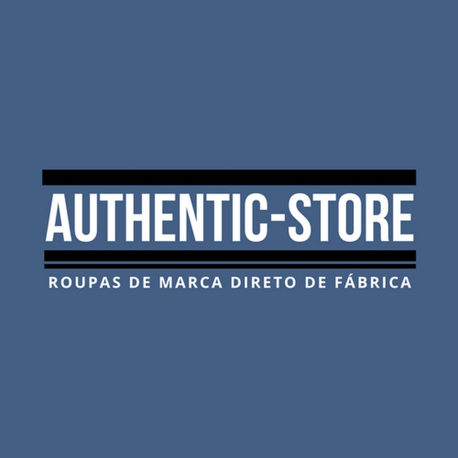 9ef30f8f97 Authentic-Store Brasil - YouTube