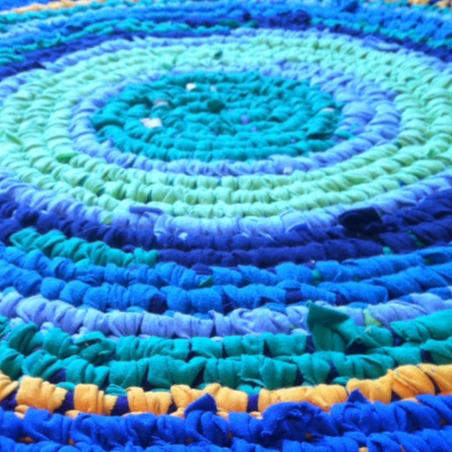 Youtube Toothbrush Rag Rug: Renata Rugs