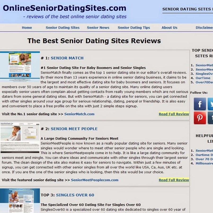 Free safe online dating over 60