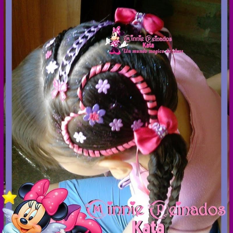 Minni Peinados Kata Peinados Infantiles 123vid