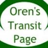 Oren's Transit Page