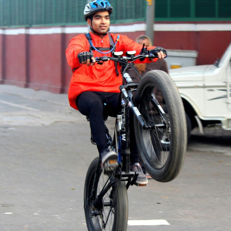 Fat Biker Vaibhav