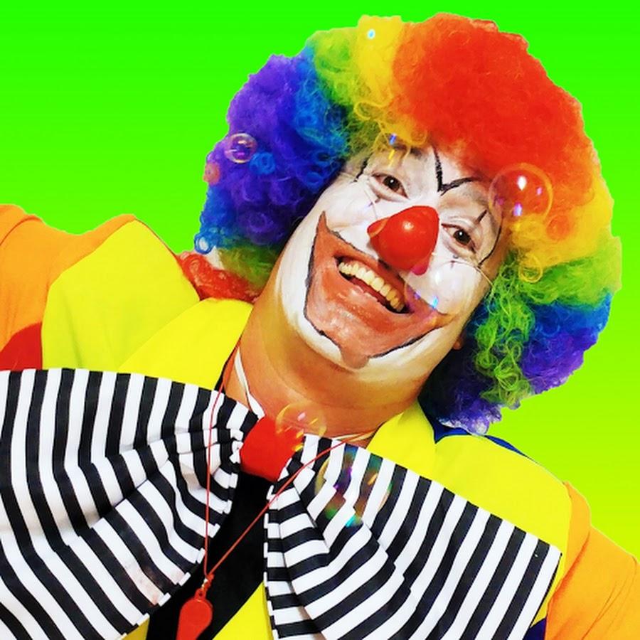 Funny Clown Bimbi - YouTube