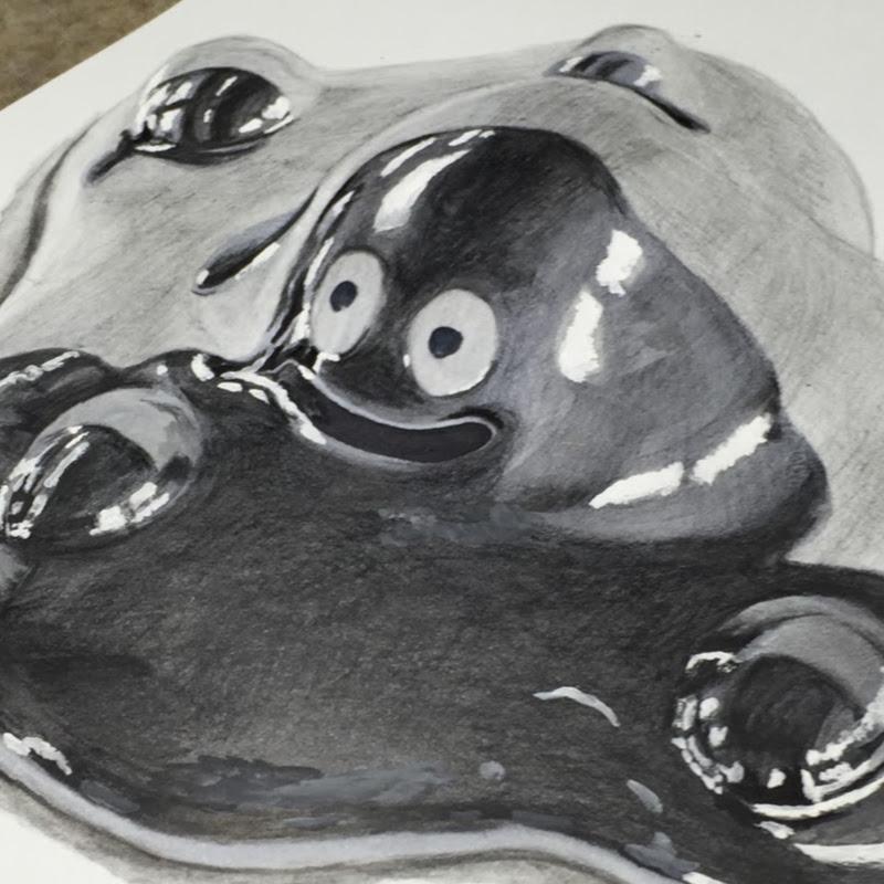 妖怪ウォッチ 山吹鬼封印妖怪の絵イラストを描いてみた動画yo Kai