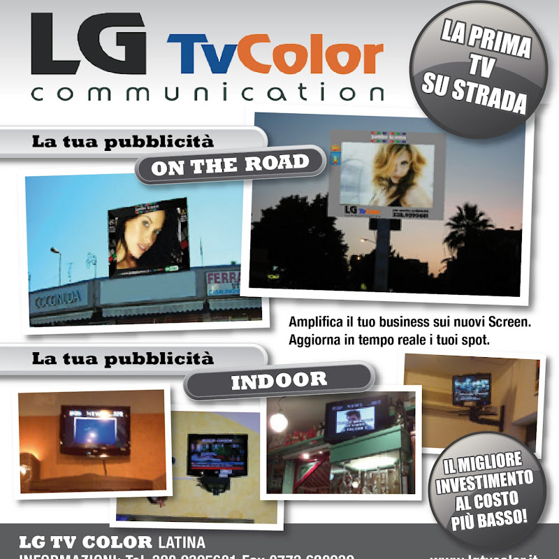 LG TV COLOR COMMUNICATION Giacanella