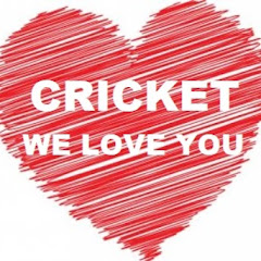CRICKET WE LOVE YOU