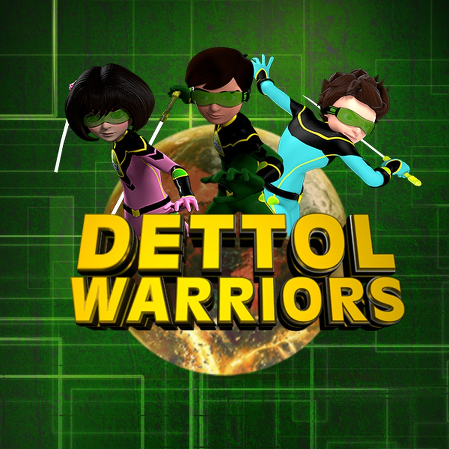 Youtube Warriors Come Out And Play: Dettol Warriors