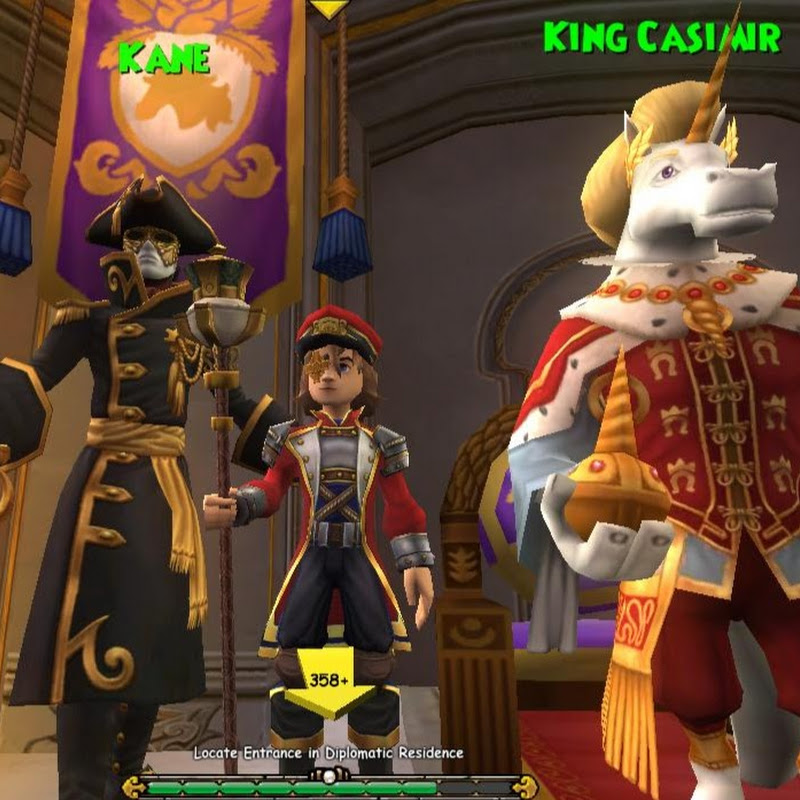 Wizard101 Achieve Level 80 and Wooly Mammoth Pet! | FunnyCat TV